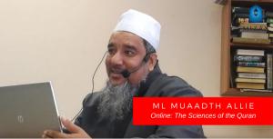Mizan Online - Ml Muaadth Allie – The Sciences of the Quran