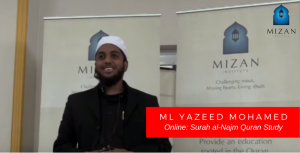 Mizan Online - Ml Yazeed Mohamed – Surah al-Najm