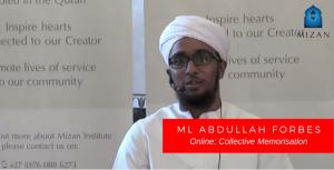 Ml Abdullah Forbes – Collective Memorisation