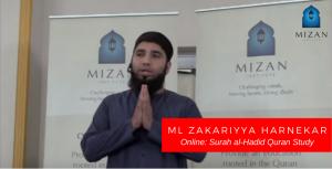 Ml Zakariyya Harnekar – Surah al-Hadid